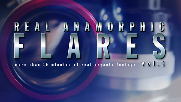 Real Anamorphic Flares vol.1