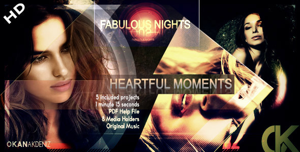 After Effects Project - VideoHive Fabulous Nights HD 411433