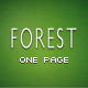 Forest - One Page Responsive Template - ThemeForest Item for Sale
