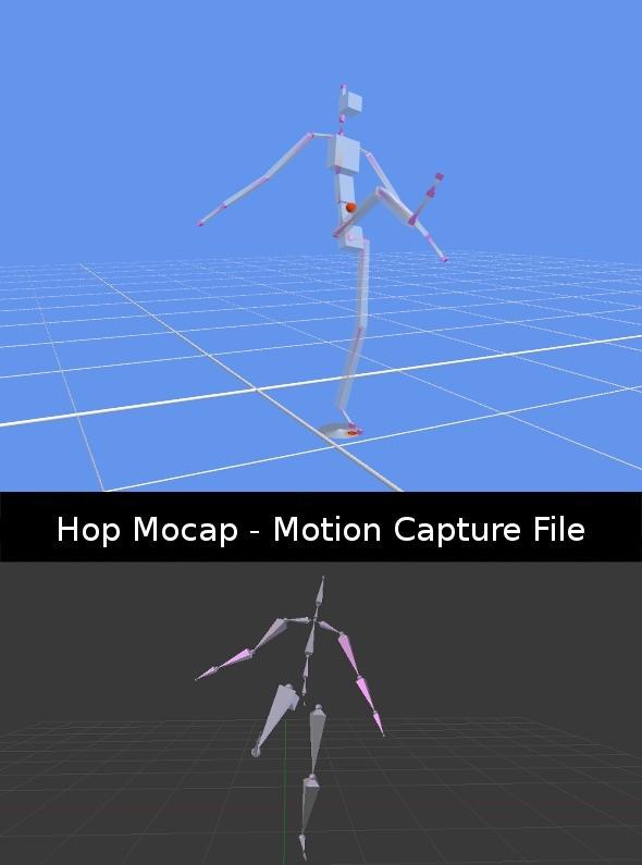 3DOcean Kick Mocap Animation Data -  Fighting 411619