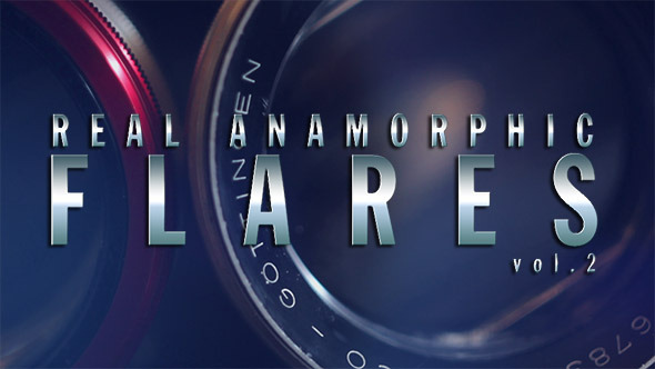Real Anamorphic Flares vol.2