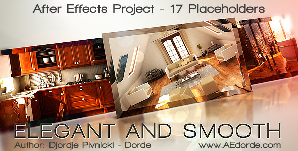 After Effects Project - VideoHive Elegant and Smooth 411912