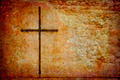 Cross on grunge wall - PhotoDune Item for Sale