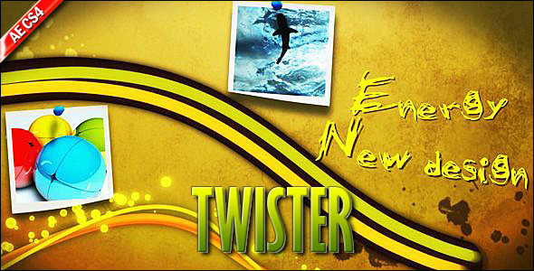After Effects Project - VideoHive Twister 138878