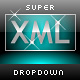 Super XML Dropdown Menu - ActiveDen Item for Sale