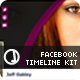 Creative Fb Timelines Kit - GraphicRiver Item for Sale