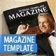 Modern A4 Magazine Template - GraphicRiver Item for Sale