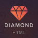 Diamond — HTML5 & CSS3 store template - ThemeForest Item for Sale