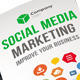 Social Media Marketing Tri fold Brochure - GraphicRiver Item for Sale
