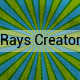 Rays Background Creator With Textures - GraphicRiver Item for Sale