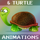 Tortoise Animation Set - ActiveDen Item for Sale