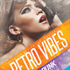 Retro Vibes Flyer Template - GraphicRiver Item for Sale