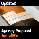 Agency Proposal Template - GraphicRiver Item for Sale