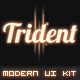 Trident UI Pack - GraphicRiver Item for Sale
