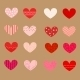 Decorated Hearts, Patterns, Seamless - GraphicRiver Item for Sale