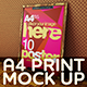A4 Realistic Mock-Up Vol.1 - GraphicRiver Item for Sale
