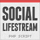 Social Lifestream - CodeCanyon Item for Sale