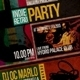 Indie Retro Party Flyer / Poster - GraphicRiver Item for Sale