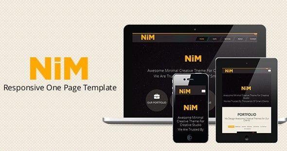 Ideanosse - Responsive One Page Template - 10