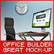Office Interior Builder - Mock Up - GraphicRiver Item for Sale
