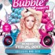 Bubble Party Flyer Template - GraphicRiver Item for Sale
