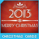 Retro Mini Cards for Christmas - GraphicRiver Item for Sale