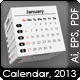 3D-Cubes Calendar 2013 - GraphicRiver Item for Sale