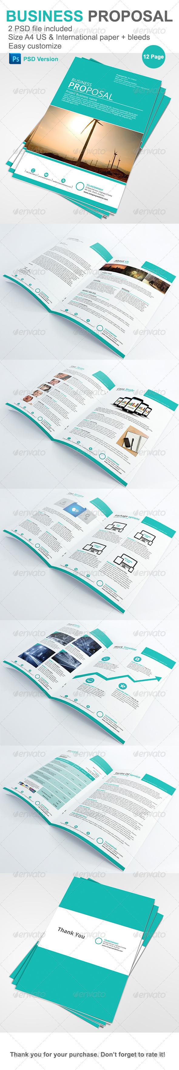 GraphicRiver Gstudio Business Proposal Template 4004682