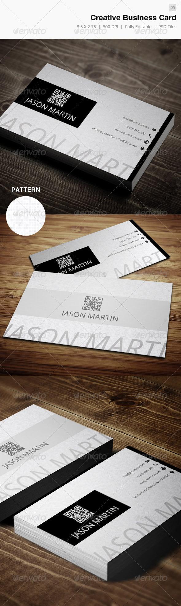 GraphicRiver Creative Business Card 05 4016265