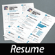 Simple Resume. A4 and US Letter - GraphicRiver Item for Sale
