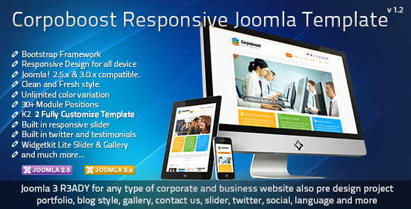 Top 10 responsive joomla bootstrap templatessocial media and tech blog this template build for joomla 258 and 302 version with bootstrap framework you can use this template for your corporate or company or your portfolio maxwellsz