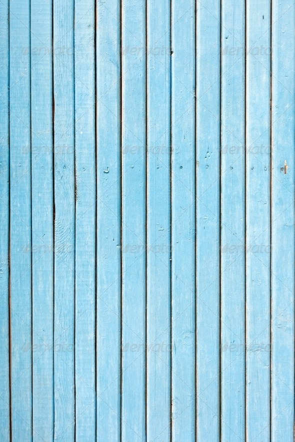 GraphicRiver blue old painted wooden fence naturally weathered 4040469