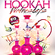 hookah lounge flyer - GraphicRiver Item for Sale