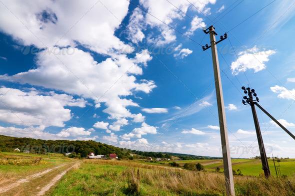 PhotoDune Ukrainian village at summer 4102044