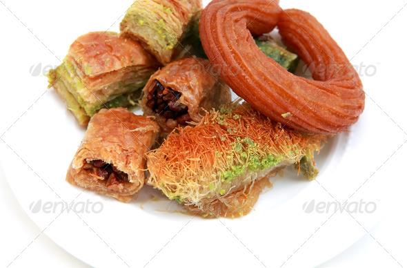 PhotoDune delicious Turkish pastry 4102050