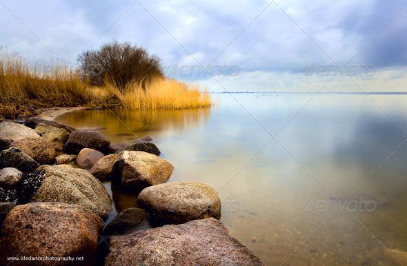 PhotoDune sea with long exposure 4102078