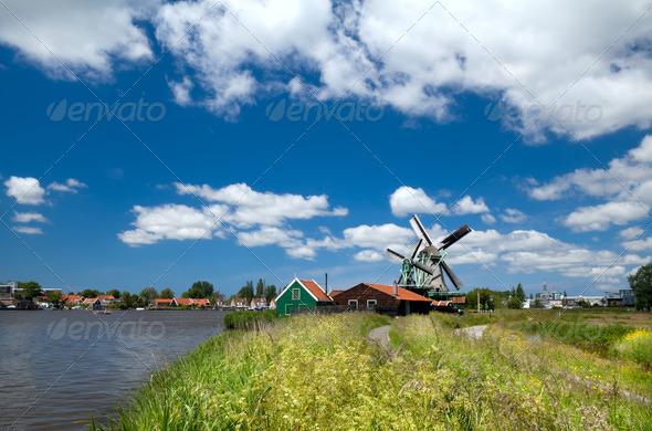 PhotoDune Dutch village 4102092