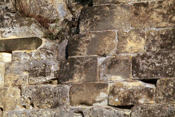 PhotoDune old stone wall 4102148