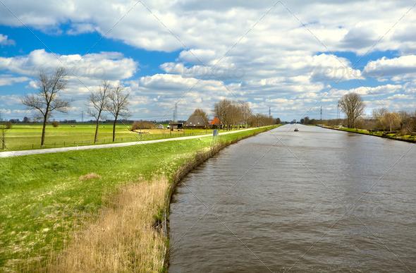 PhotoDune beautiful Dutch landscape 4102190