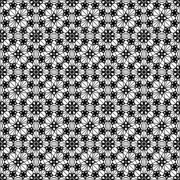 GraphicRiver Seamless Lace Pattern 4043742