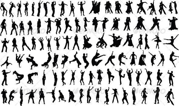 GraphicRiver Dancers 4043896
