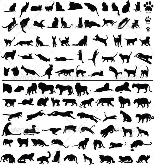 GraphicRiver 100 Cats 4044868