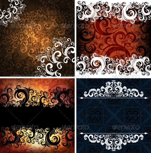 GraphicRiver Set of Abstract Backgrounds 4046068