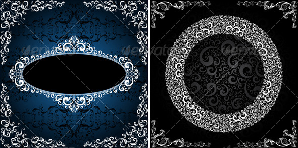 GraphicRiver ornamented backgrounds 4046382