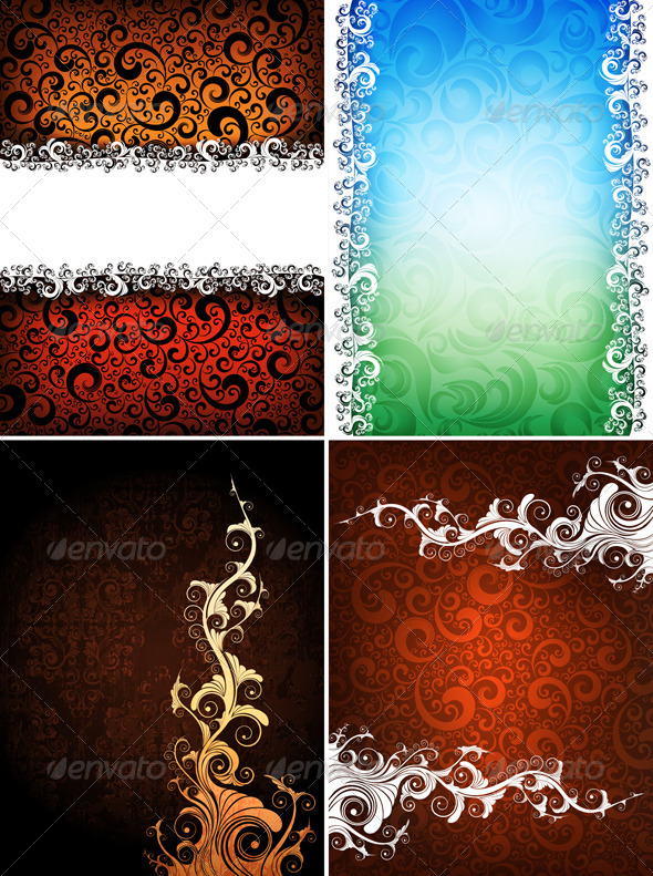 GraphicRiver creative backgrounds 4046480