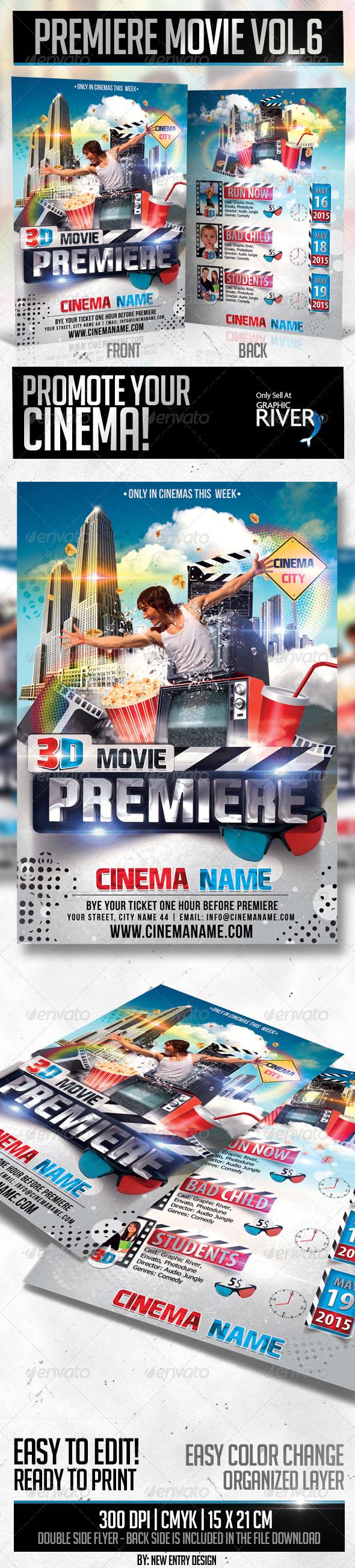 GraphicRiver Premiere Movie Vol6 4052309