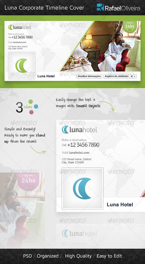 GraphicRiver Luna Corporate Timeline Cover 4052439