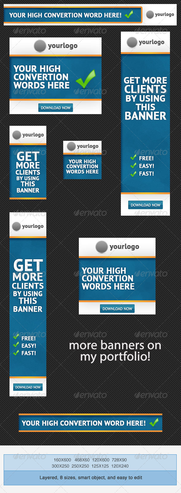 GraphicRiver Business Banner Ads PSD Template 4052620