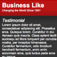 Business Like - ThemeForest Item for Sale
