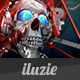 Metal Skull Head Logo Sting - VideoHive Item for Sale